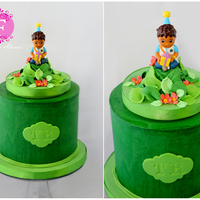 Diego Birthday Cake Diego toy topper birthday cake. Thanks for looking :)