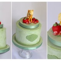 Applejack Birthday Cake This was so fun and easy for a change. Applejack is a toy keepsake Thanks for looking. Blessings.