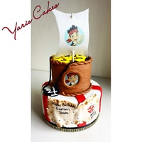 Jake And The Neverland Pirate Cake Jake and the neverland pirate cake