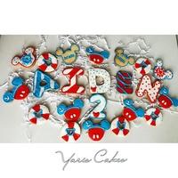 Mickey Sailor Theme Cookies Mickey sailor theme cookies