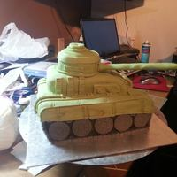 First Attempt At A Tank For My Grandson X *