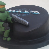 Halo 13Th Birthday Cake