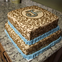 Browns And Blues Scrolls Boy Baby browns and blues, scrolls, boy, baby