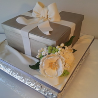 Gift Box Wedding Cake Gift box wedding cake