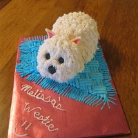 Melissa's Westie Cake My 9 yr old granddaughter & I were inspired by the beautiful work of shenninger here on CC. Our Westie, Lady Chelsea, brought us all so...