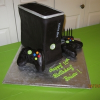 Xbox 360 Cake Made this cake for my grandson's birthday.