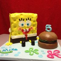 Spongebob Squarpants Cake Made this for a sweet friends little guy! He loved it!