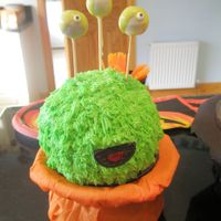 Fuzzy Monster Based on cakeboxgirls' Flickr photo- so much fun to make.