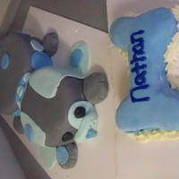 Puppy Cake And Smash Cake