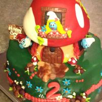 Gum Paste Smurfs With All Mmf Cherry Cake With Whipped Cream Cheese Filling And Cherry Buttercream So Many Great Inspirations Here On  Gum paste smurfs, with all mmf. Cherry cake with whipped cream cheese filling, and cherry buttercream. So many great inspirations here on...