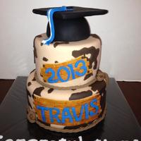The Graduate Wanted A Cowhide Cake The graduate wanted a cowhide cake.
