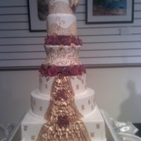 Wedding Of Figaro Cake This was a cake made by my daughter and myself for a competition. My daughter owns Savannah Tea Company in Nashville Tn, she and I both do...