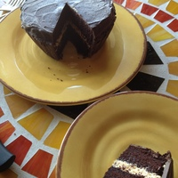 Reese's Peanut Butter Cup Cake  Had posted this photo of the giant Reese's cup before but it disappeared from my gallery :oThanks to ddaigle for the great idea and...