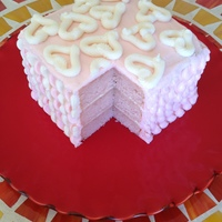 Pink Champagne Celebration Cake It's actually Prosecco, because I wanted to try a champagne cake recipe but wanted to save a little $! The buttercream has Prosecco in...