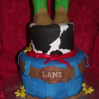 Cowboy Cake! This cake was made for my nephews first birthday party.