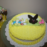 Basket Cake Easter Basket Cake