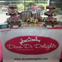 Golf Tournament Dessert Table cakpops,cupcakes,dipped oreos,cherry bombs an more for a dessert table