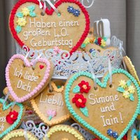Oktoberfest! Based on traditional Bavarian cookies for friends joint Oktoberfest 40th!