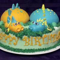 Dinosaur Cake This dinosaur cake was made for a little boys 4th birthday. He is very much in love with Dinosaurs and was so excited when I delivered his...