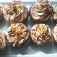 Chocolate Banana Nutella Cupcakes  These cupcakes are one of my biggest sellers its a chocolate cupcake with a organic banana and a mocha filling with a fluffy chocolate...