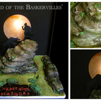Hound Of The Baskervilles Cake