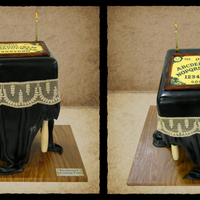 Levitating Ouija Board Table  I made this cake for a magic themed cake display at the Experimental Food Society Member's Spectacular in London, October 21st 2011. I...