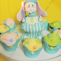 Myc_Bunny Shaped Cupcake