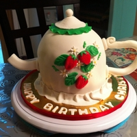 Teapot Birthday Cake!