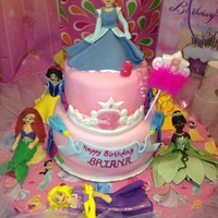 Princess Cake My Daughters 3rd Bday Cake