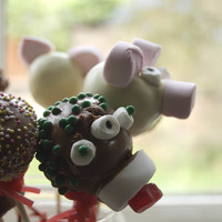 Cake Pops! They defy me! Picture taken before they impaled themselves.