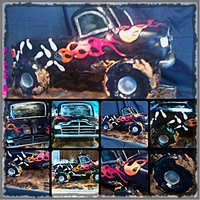 Truck Collage