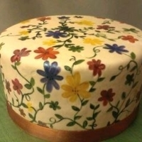 1322280248.jpg I have seen so many beautiful painted cakes, so I thought I would try it. Happy Thanksgiving!!