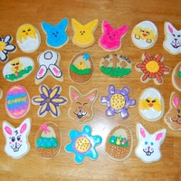 Easter Cookies Easter Sugar Cookies decorated with Royal Icing