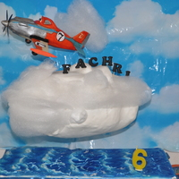 A Gravity Cake I Made For My Son, 3D Planes Cake