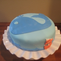 Whale Cake   For baby shower