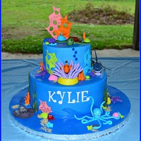 Under The Sea Cake under the sea cake