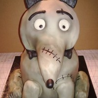 3D Carved Cakes My 1st 3D carved cake! I got the inspiration from not only the movie Frankenweenie, but also an amazing cake by Sweet Layers (hers is SO...