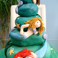 Mermaid Cake From Debbie Brown's Book