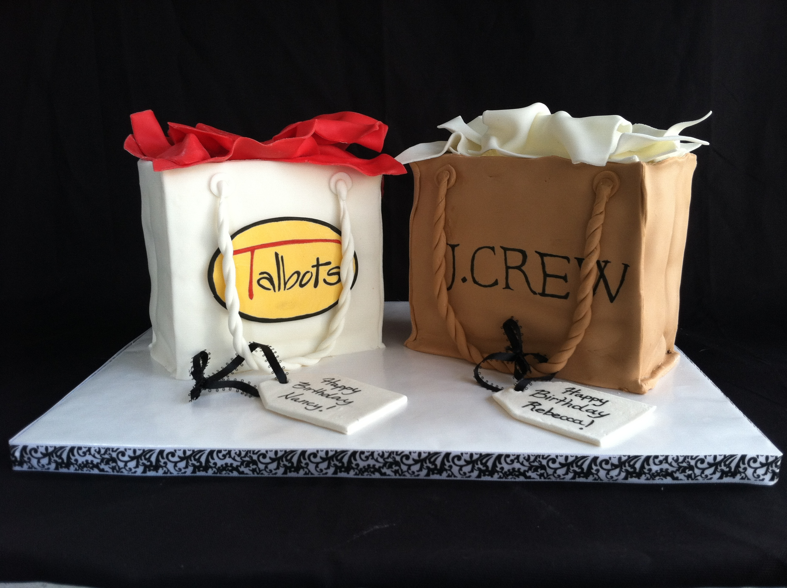 Shopping Bag Cake   Shopping Bag Cake