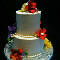 Orchid Wedding Cake   Orchid Wedding Cake