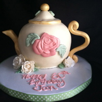 Teapot Birthday Cake Teapot Birthday Cake