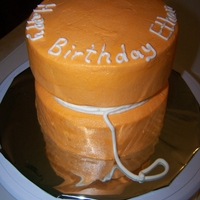 Yo Yo Cake 2 -6 inch rounds all buttercream