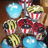 Kids Insect Cupcakes