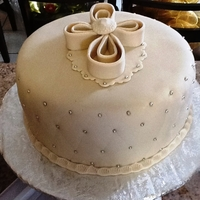 Baptism Cake inspired by many designs from this site, thanks for looking
