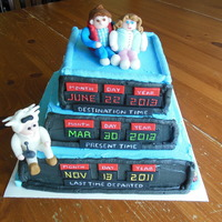 Back To The Future Bridal Cake When I was asked to do a Back to the Future Bridal shower cake I knew I had to come up with something that would be special and knew I had...