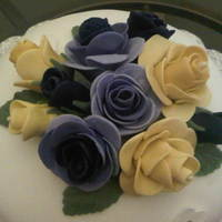 Purple And Yellow Roses