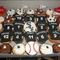 White Sox Cupcakes Little League Champions