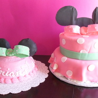 Minnie 1St B Day Cake Amp Smash Cake Minnie 1st B-Day cake & Smash Cake