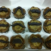 Mustached German Chocolate