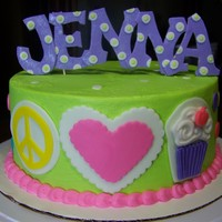 Wasc Cake With Vanilla Swiss Meringue Buttercream Filling And Frosting And Fondant Decorations WASC cake with vanilla swiss meringue buttercream filling and frosting and fondant decorations